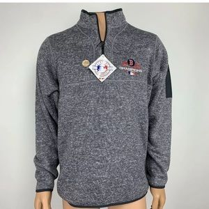 NWT Antigua MLB Boston Red Sox 1/4 Zip Pullover